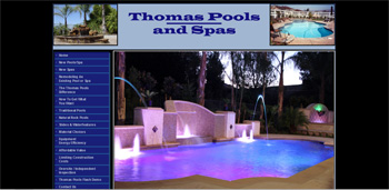 THOMAS POOLS - SANTA CLARITA CA | http://www.tapsolutions.net